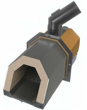 Пеллетная горелка OXI Ceramik+ 20-50kW