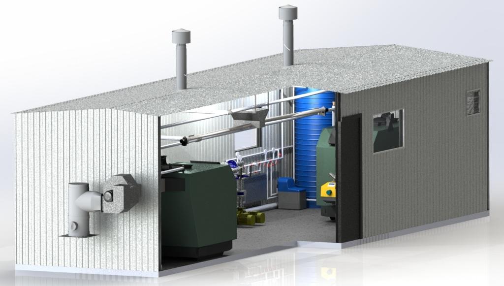 газовая котельная для многоквартирного